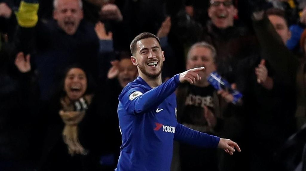Hazard Pimpin Chelsea Hajar West Brom