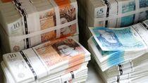 Corona Mengganas, Poundsterling Digilas Dolar AS