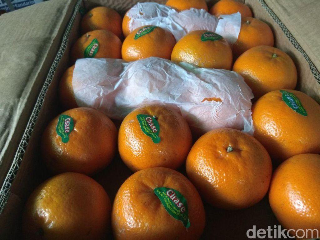 Impor Jeruk Mandarin Turun Tapi Apel Naik di Februari