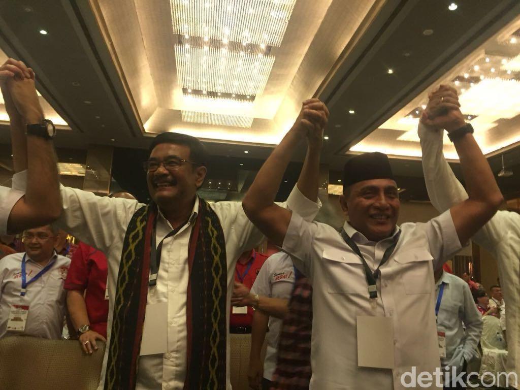Djarot dan Edy Bersimpati JR Saragih Gagal Maju di Pilgub Sumut