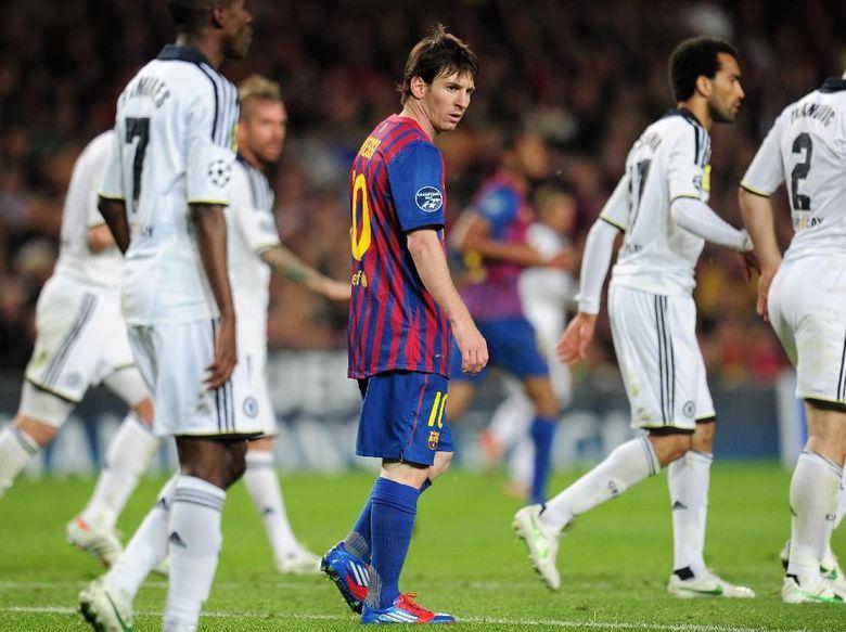 Messi Pernah Menangis Gara-gara Chelsea
