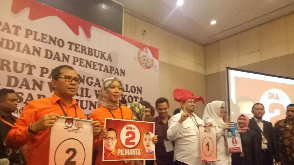 Mana Jagoanmu di Pilwalkot Makassar? Appicicu Nomor 1, DIAmi Nomor 2