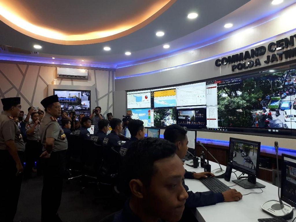 Kapolri Minta Jakarta dan Sumsel Tiru Command Center Polda Jatim