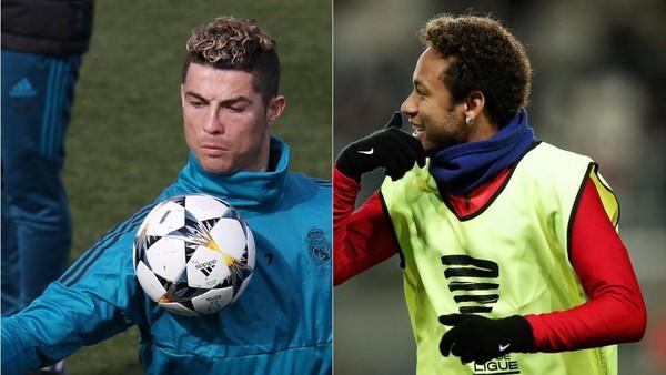 Ronaldo vs Neymar dalam Statistik
