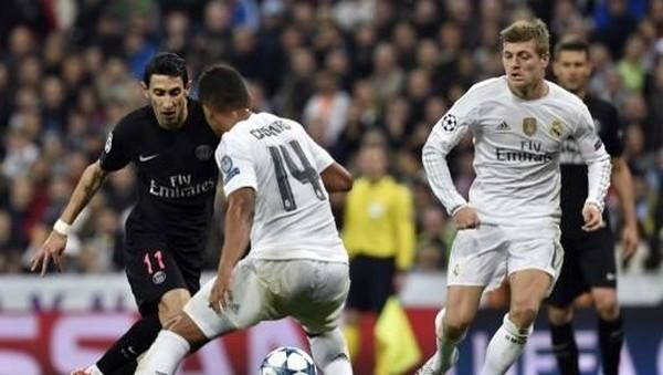 Madrid vs PSG, Duel Rp 27,4 T