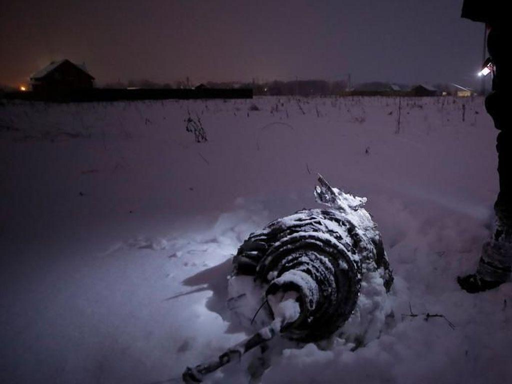 Jatuhnya Pesawat Rusia Diduga karena Sensor Kecepatan Tertutup Es