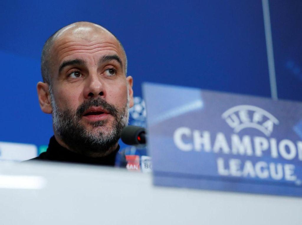 Rekor Buruk Guardiola di Laga Tandang Fase Gugur Liga Champions