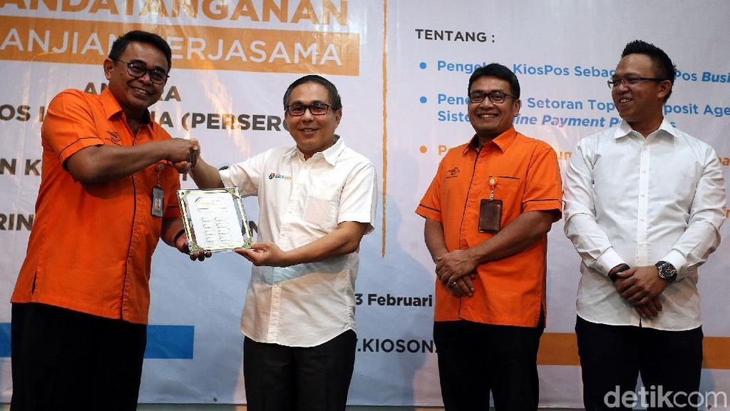 Pos Indonesia Gandeng Kioson