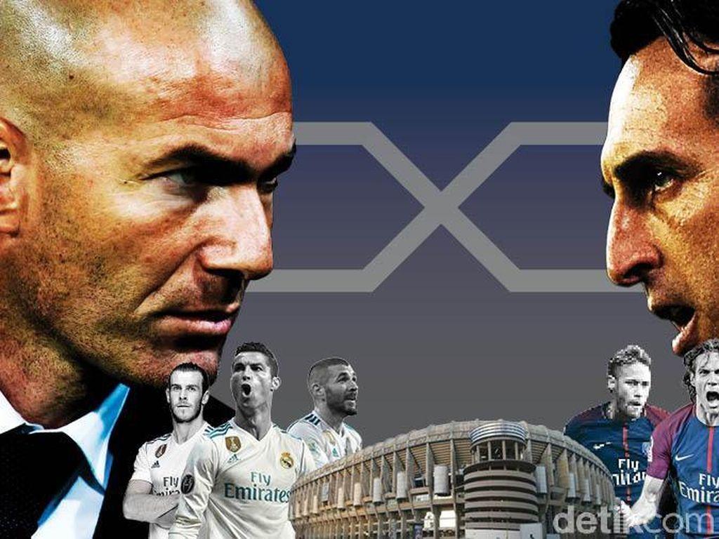 Madrid vs PSG, Duel Dua Raksasa di Bernabeu