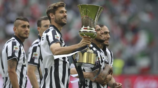 Fernando Llorente pernah berkostum Juventus.