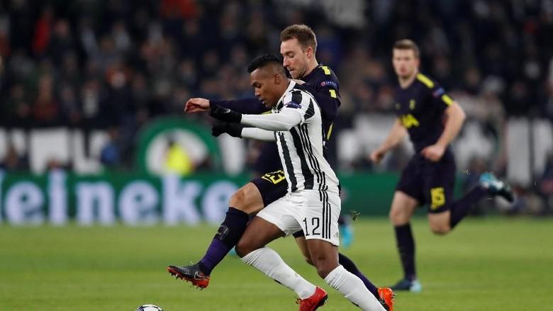 Ketat, Juventus Sementara Unggul 2-1 atas Spurs