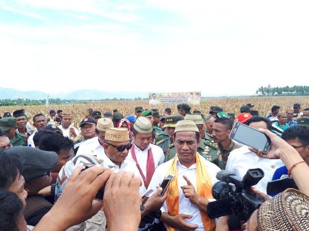 Mentan Lapor Jokowi Soal Ekspor Jagung ke Filipina 57.000 Ton