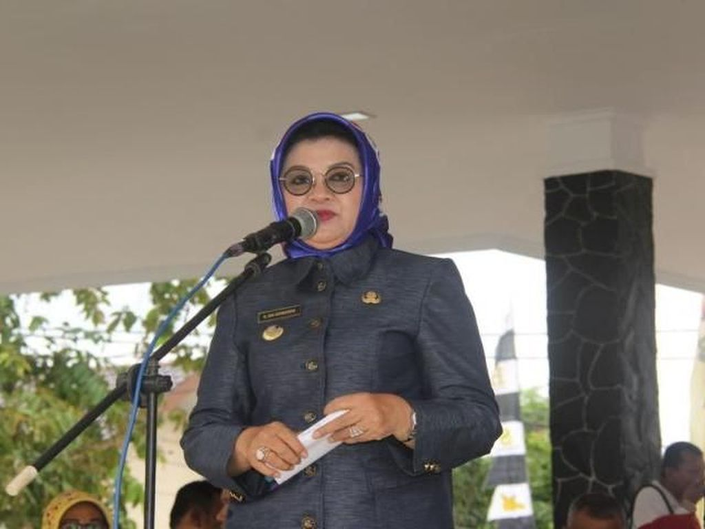 Foto: Bupati Subang Imas, Calon Petahana yang Kena OTT KPK