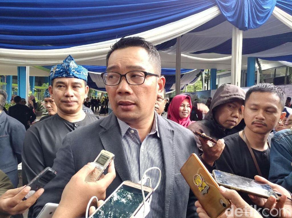 Ridwan Kamil Tetap Bujuk PKL Jamika Pindah ke Cibadak
