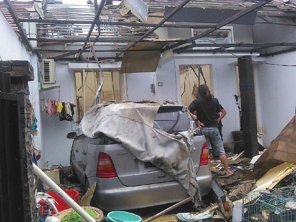 11 Rumah Rusak, Ledakan di Bogor karena Saluran Gas Digigit Anjing