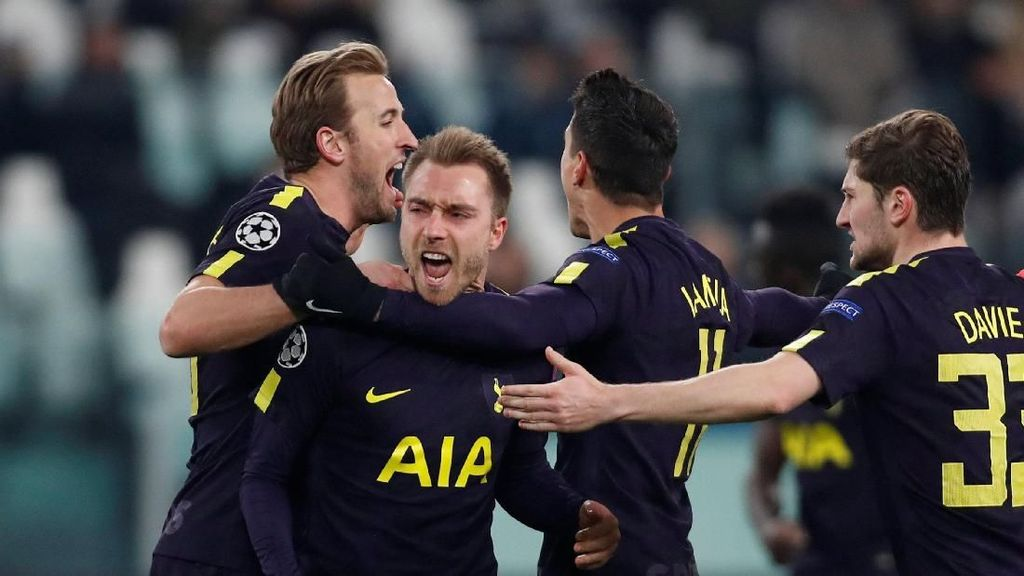 Gol-gol Tottenham yang Pupuskan Kemenangan Juventus
