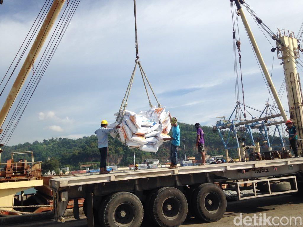 Sebanyak 62.500 Ton Beras Impor Telah Masuk RI