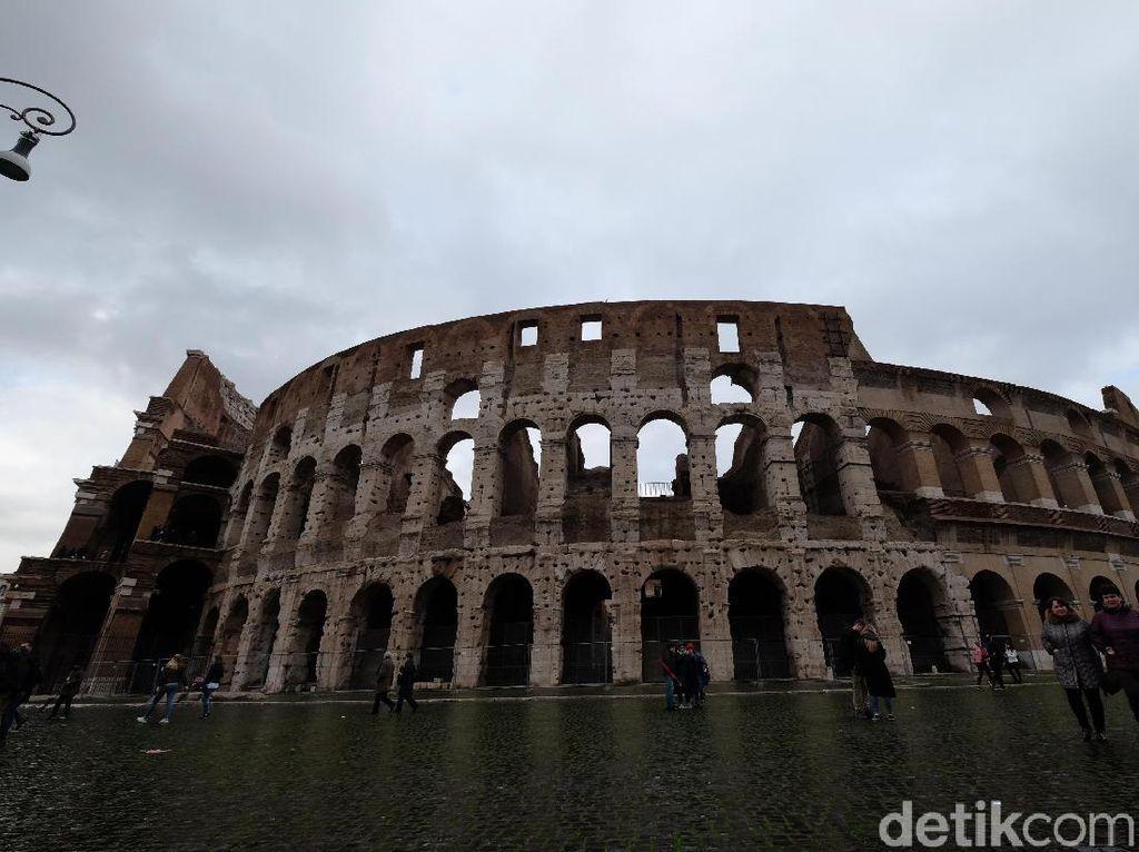 Foto: Arena Hidup Mati Gladiator di Italia