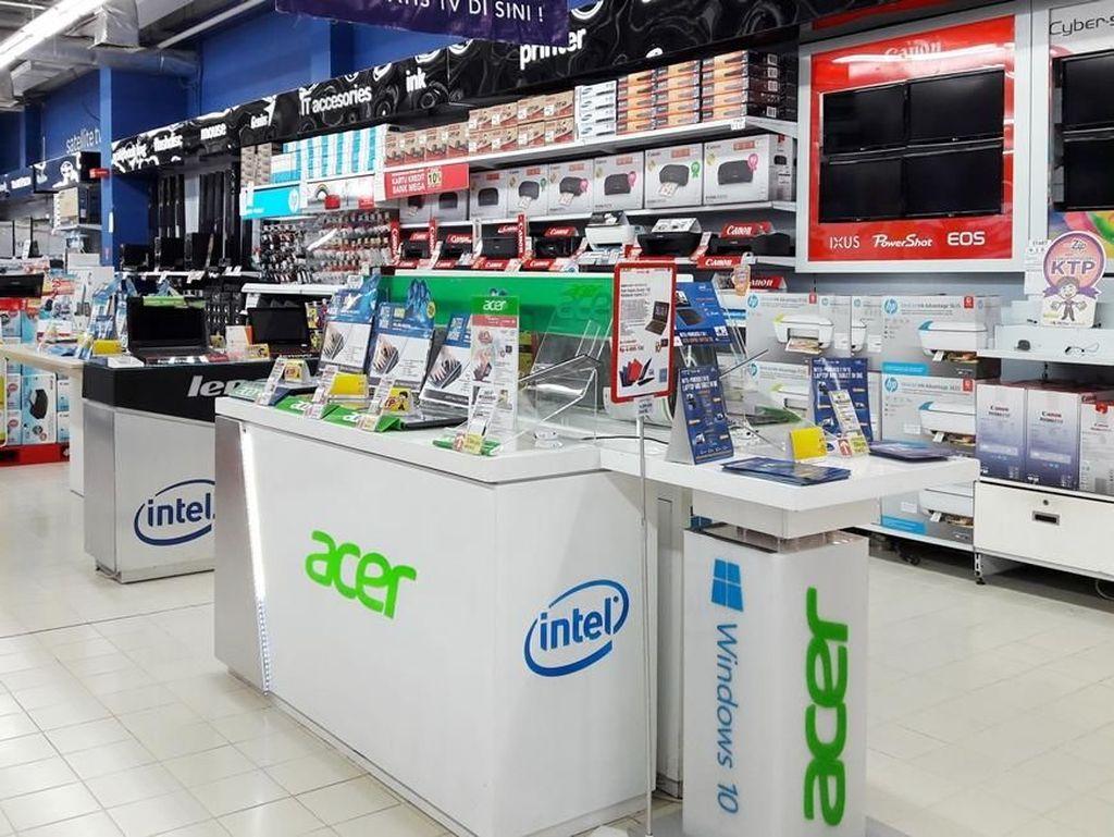 Serba Diskon Laptop Lenovo, HP & Acer di Transmart Carrefour