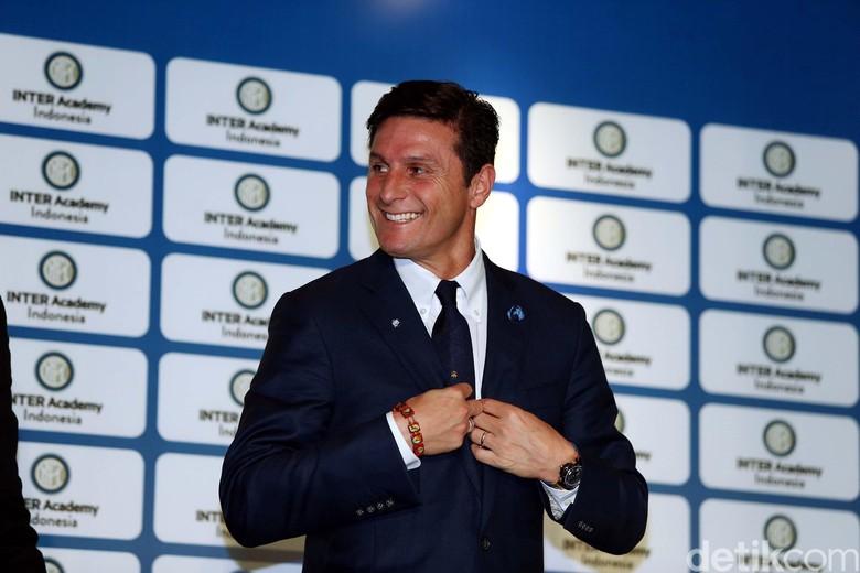 Legenda Inter Milan Javier Zanetti Sapa Jakarta