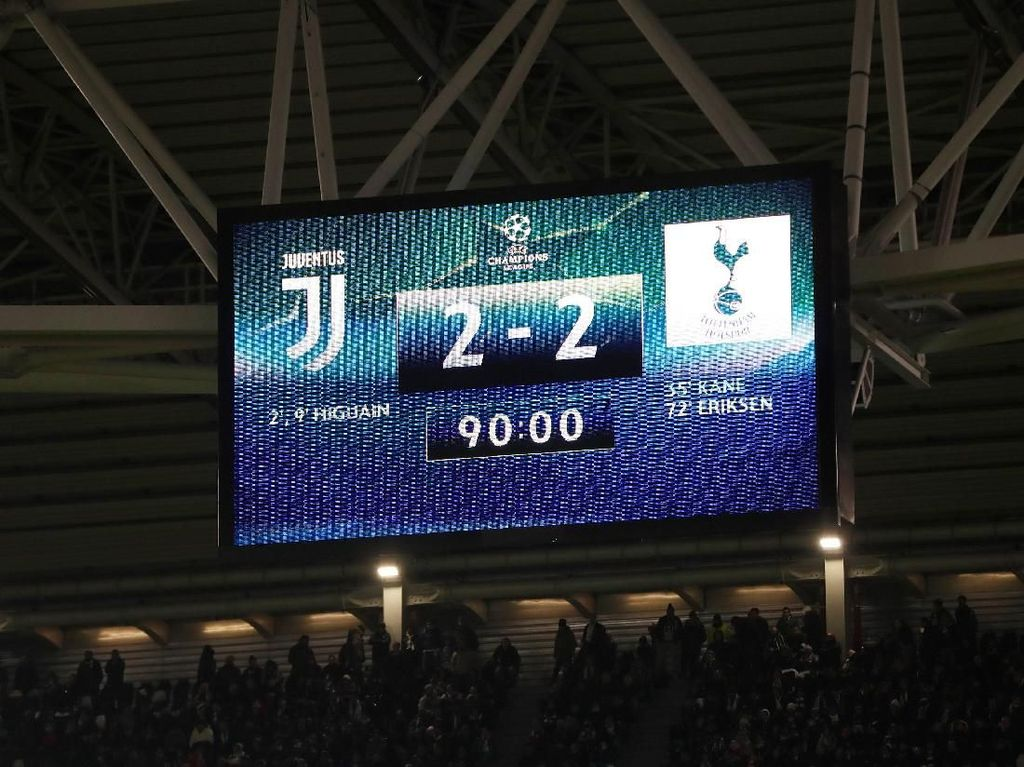 Kini Spurs, Dulu MU: Soal Kegagalan Juve Amankan Keunggulan Dua Gol