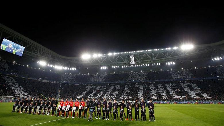 Juventus menjamu Spurs di Allianz Stadium, Rabu (14/2/2018) dinihari WIB pada laga leg pertama babak 16 besar Liga Champions. (Foto: Paul Childs/Action Images via Reuters)