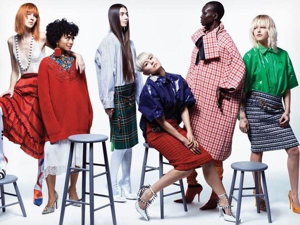 Keren! Agnez Mo Eksis Lagi di Majalah Vogue AS