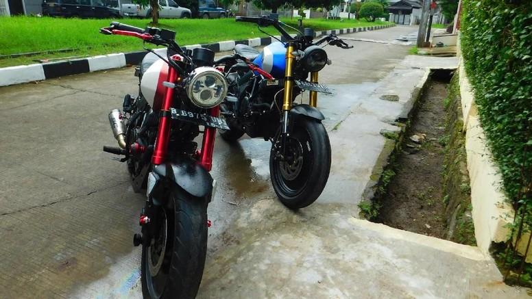 Modif Yamaha Scorpio TWIN R1V4LZ XPLORE