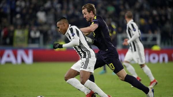 Buang Keunggulan Dua Gol, Juventus Diimbangi Spurs