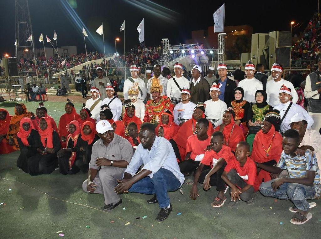 Ketika Tari Kecak dan Sajojo Pikat Ribuan Orang di Sudan