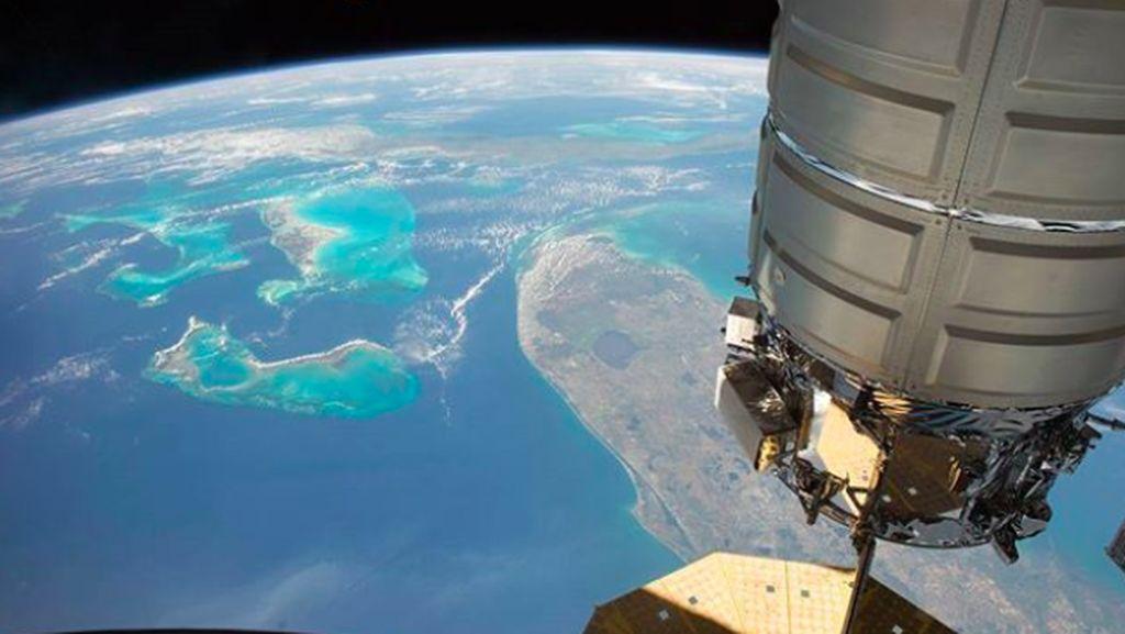 Penampakan Indah Bumi dari Stasiun Luar Angkasa ISS