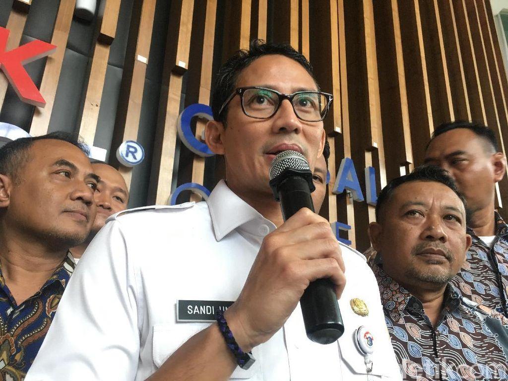 60 Ribu CCTV akan Dipasang, Sandi: To Make Jakarta Safe