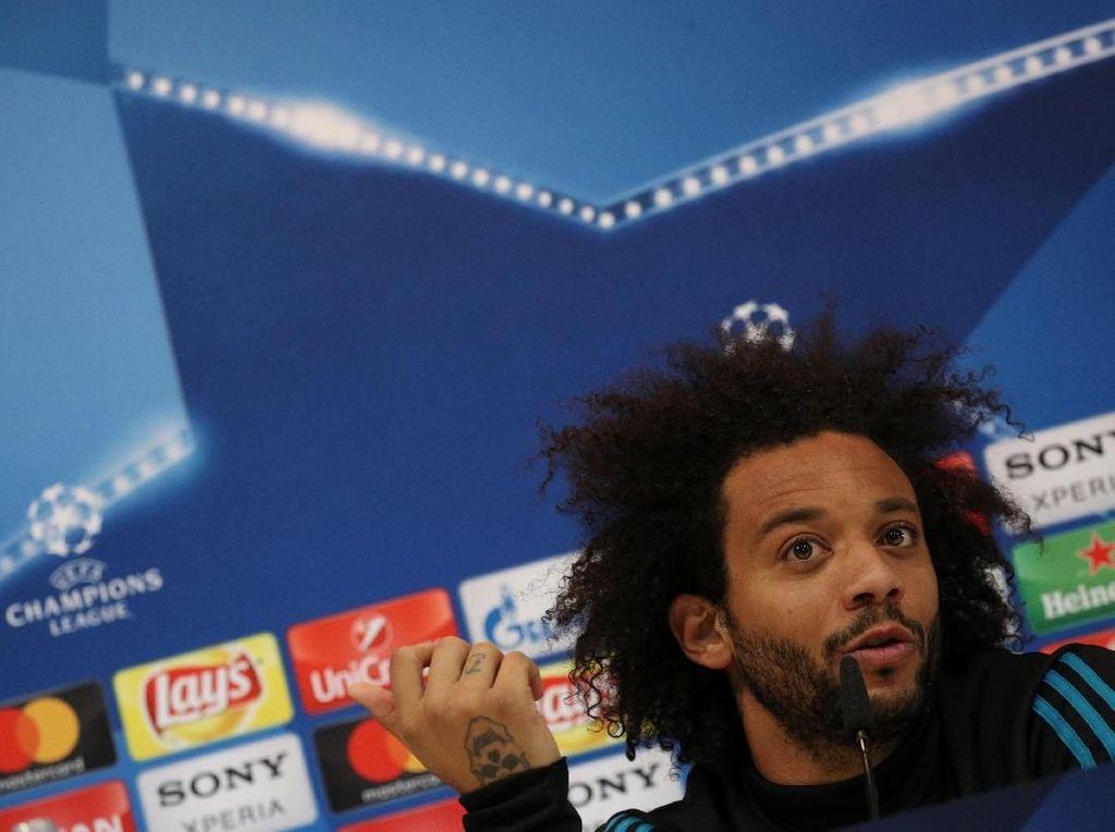 Marcelo: Salah kalau Madrid Cuma Fokus ke Neymar