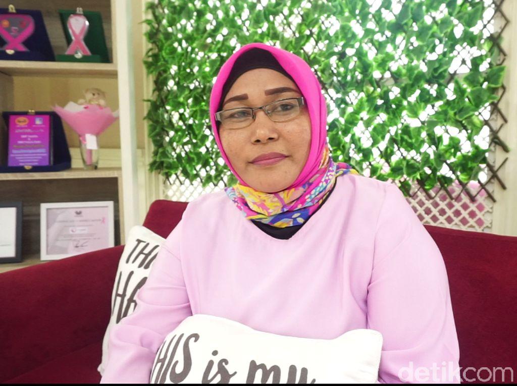 Perjuangan Leni yang Naik Angkutan Umum untuk Kemoterapi