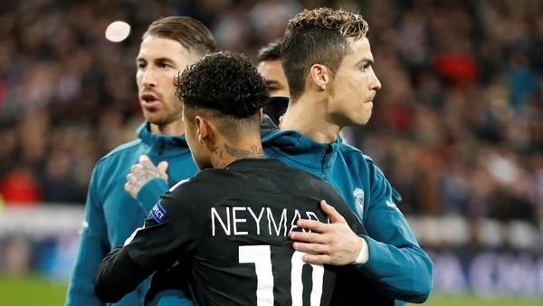 PSG Tunduk di Markas Madrid, Neymar: Masih Ada Leg Kedua