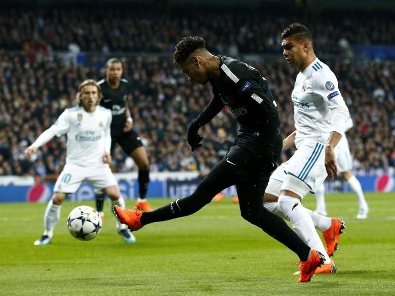 Madrid-PSG Imbang 1-1 di Babak Pertama
