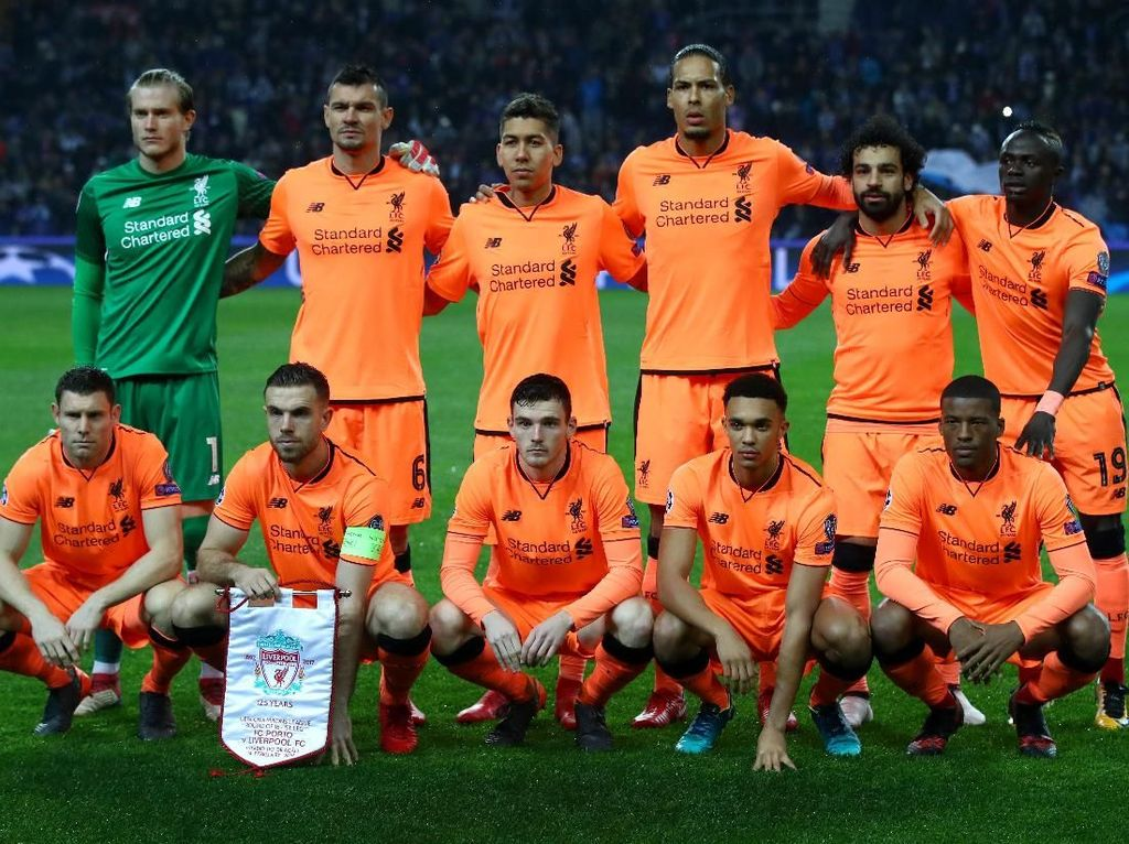 Meski Ditunggu MU, Liverpool Tetap Full Team Lawan Porto di Leg Kedua