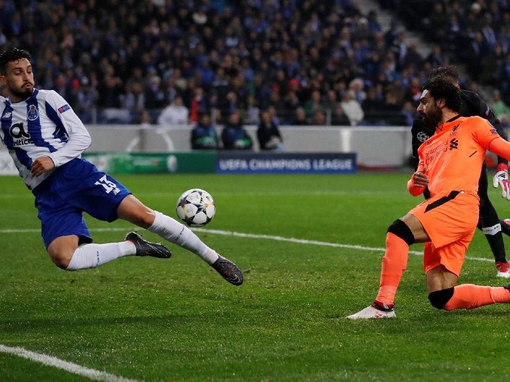 Liverpool Sementara Ungguli Porto 2-0