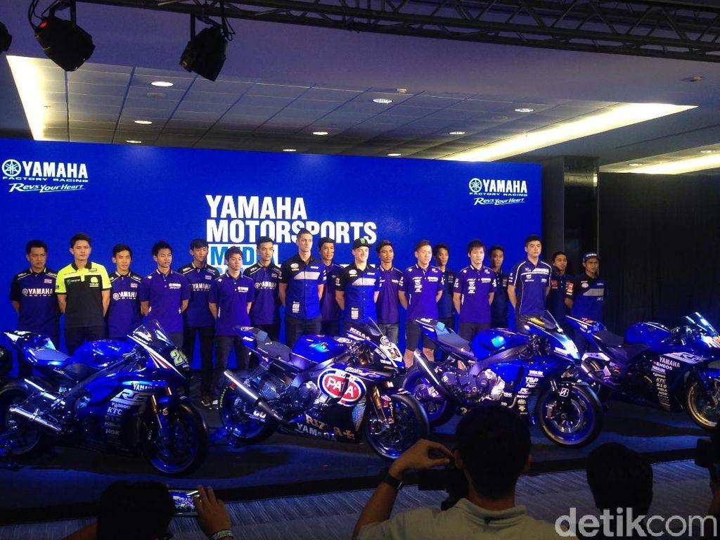 Yamaha Perkenalkan Jagoan Balapnya Musim Ini, Termasuk dari Indonesia