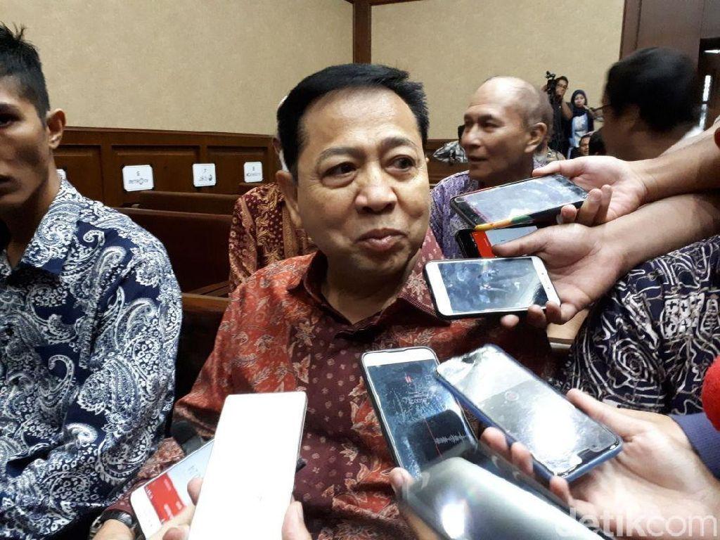 Tanggapi soal Uang di Rekening Sekretaris, Novanto: Bukan dari e-KTP