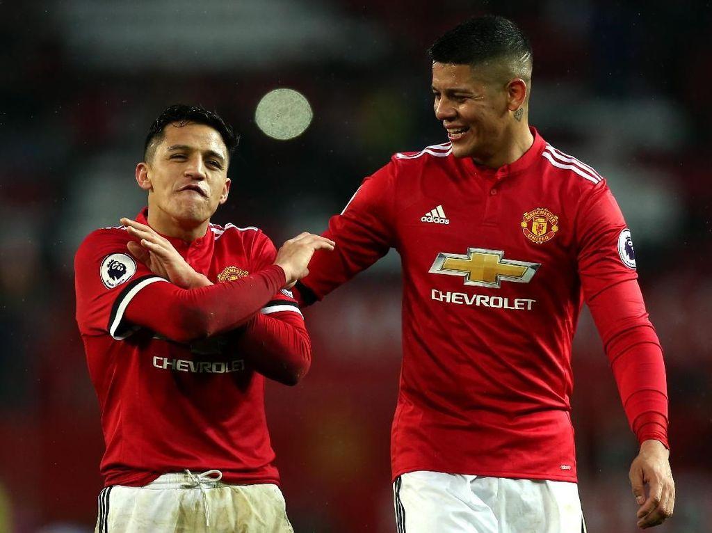 Leganya Rojo Akhirnya Bisa Berhenti Saling Terjang dengan Sanchez