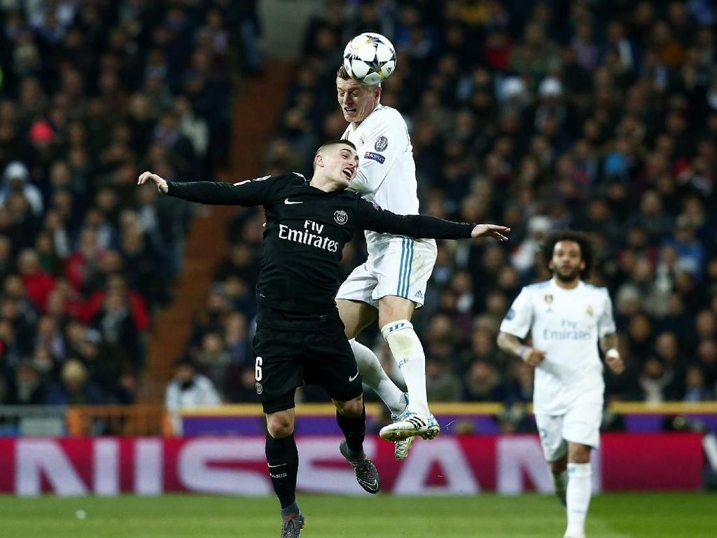 PSG Kecewa Dikalahkan Madrid, tapi Belum Lempar Handuk