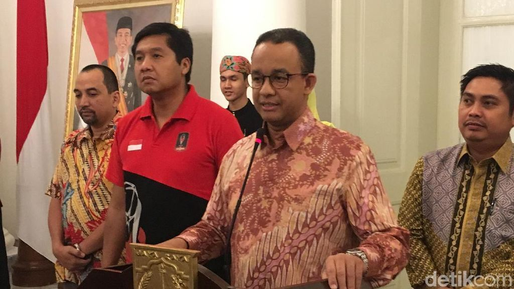 Final Piala Presiden, Anies Minta Suporter Tak Injak Bangku GBK