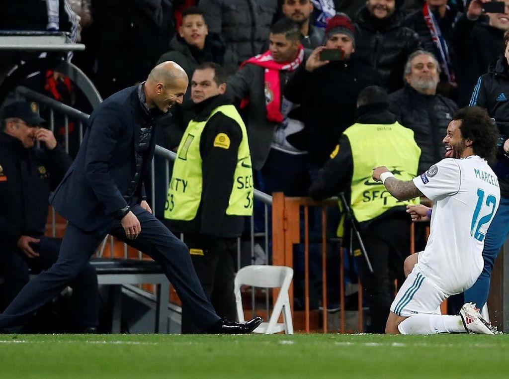 Madrid Bekap PSG, Zidane: Pertarungan Belum Selesai