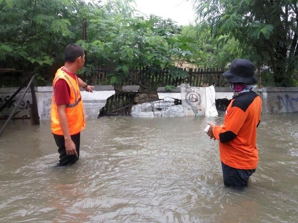 Akibat Hujan, Sejumlah Wilayah di Kota Bekasi Terendam Banjir
