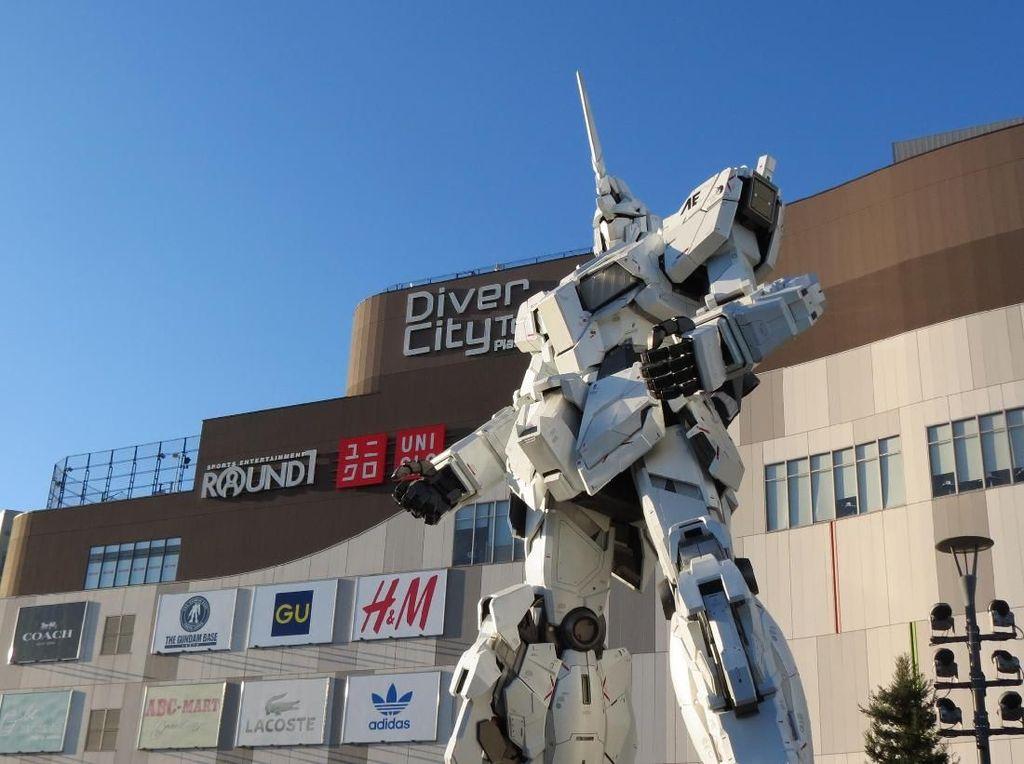 Foto: Robot Keren Jepang, dari ASIMO Sampai Gundam