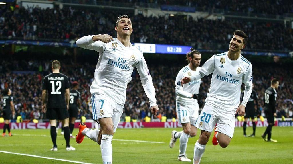 Ronaldo yang Masih Buas di Liga Champions