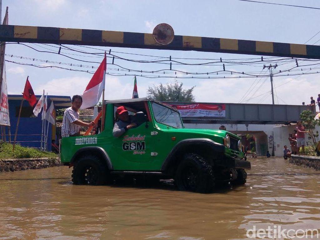 Kampanye Pilwalkot Tegal Hari Ini, Konsolidasi Hingga Tinjau Banjir