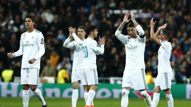 Madrid Boleh Naik Turun di Liga, tapi Tidak di Eropa