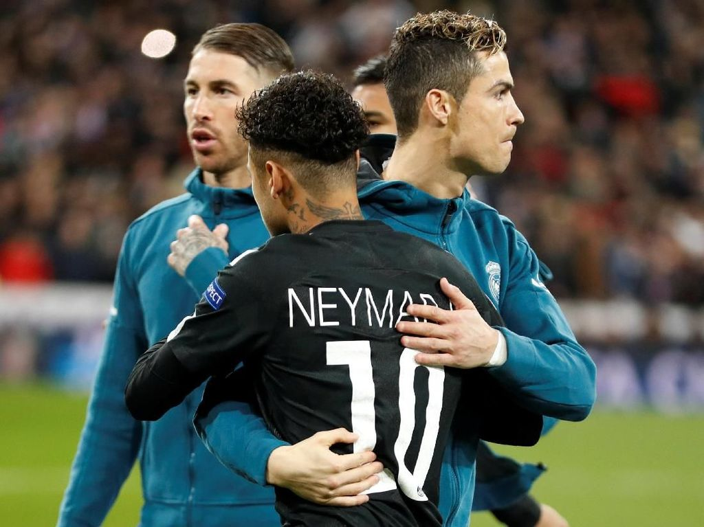 Ronaldo vs Neymar dalam Meme-meme Kocak